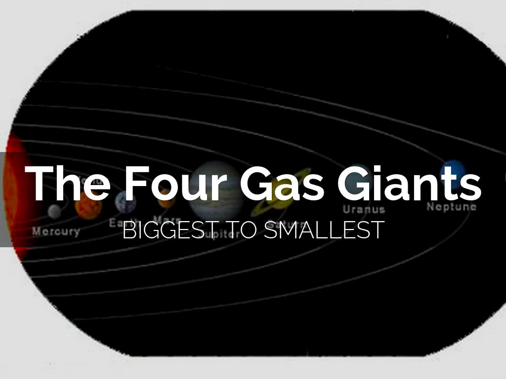 Gas Giants By Mgdubois