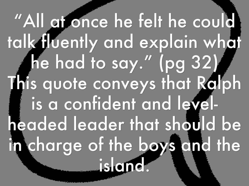 75 Lord Of The Flies Quotes Ralph