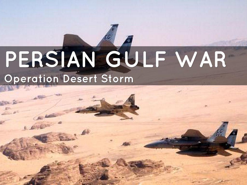 Persian Gulf War By Mabel Gonzalez Nunez