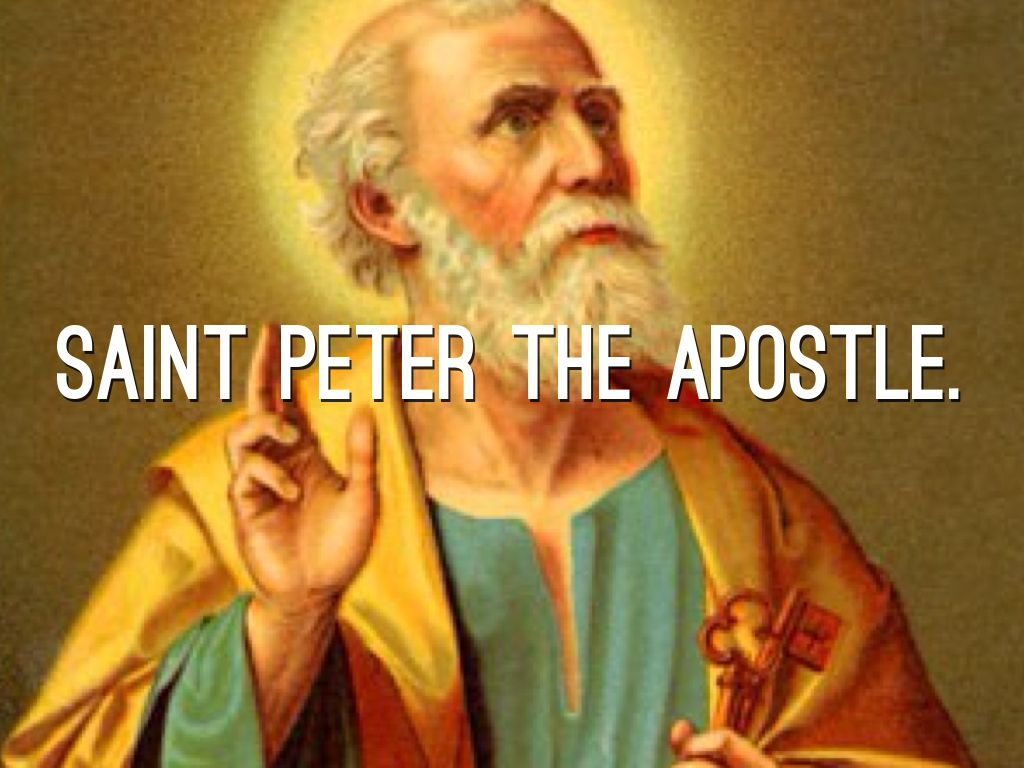 St Peter Apostle