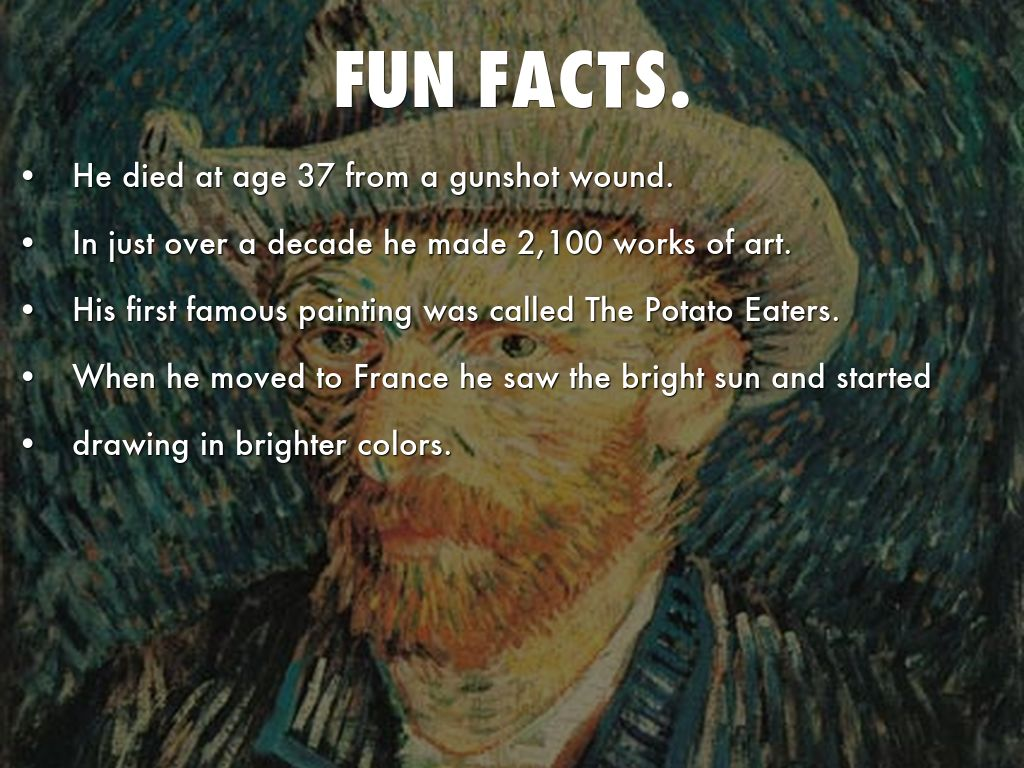 Facts About Vincent Van Gogh Painting Starry Night