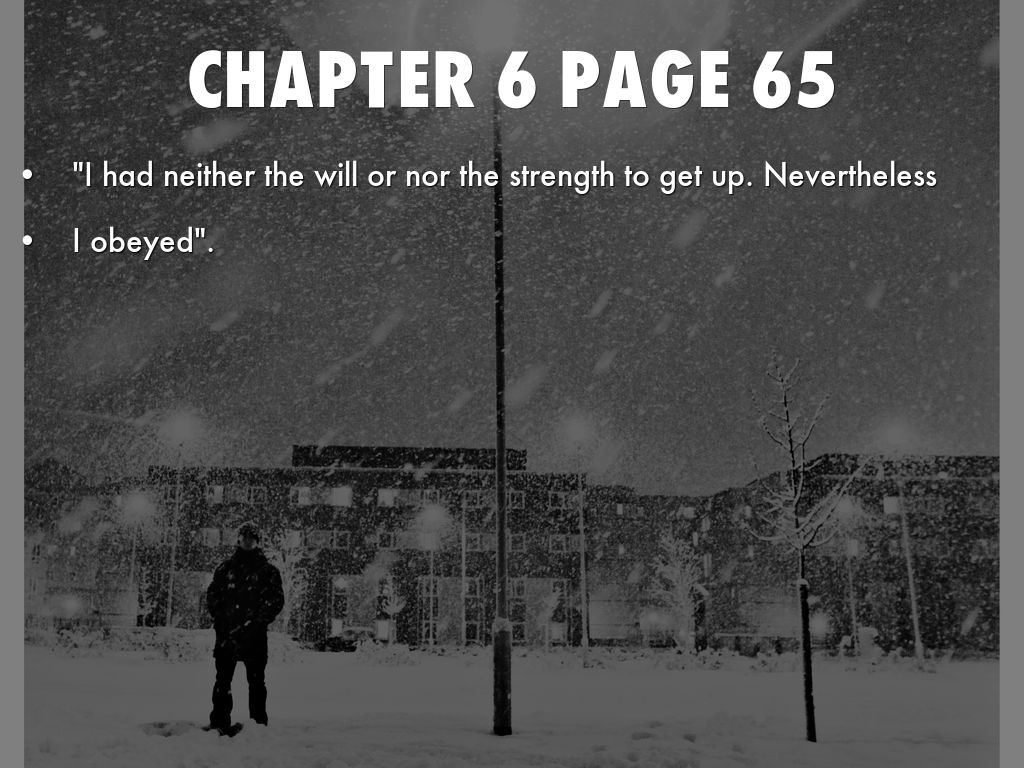 Night Chapter 5 Quotes