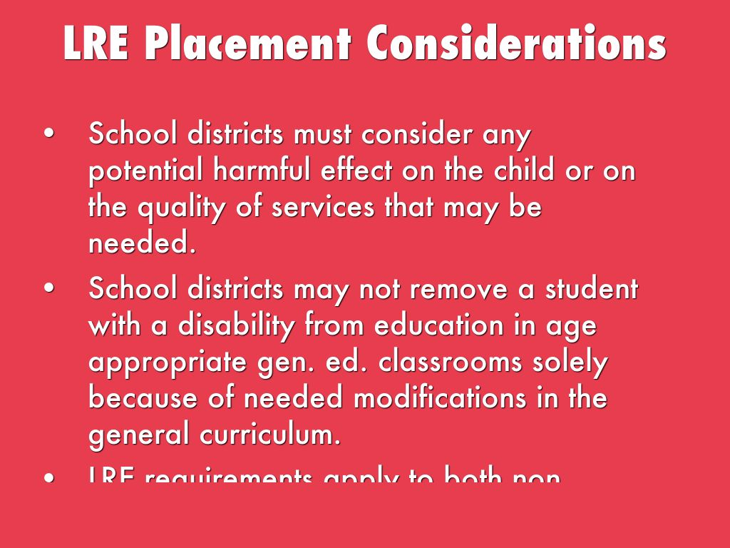 Ch 18 Eligibility Procedures For Special Education