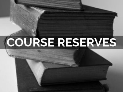 Books that are reserved for courses