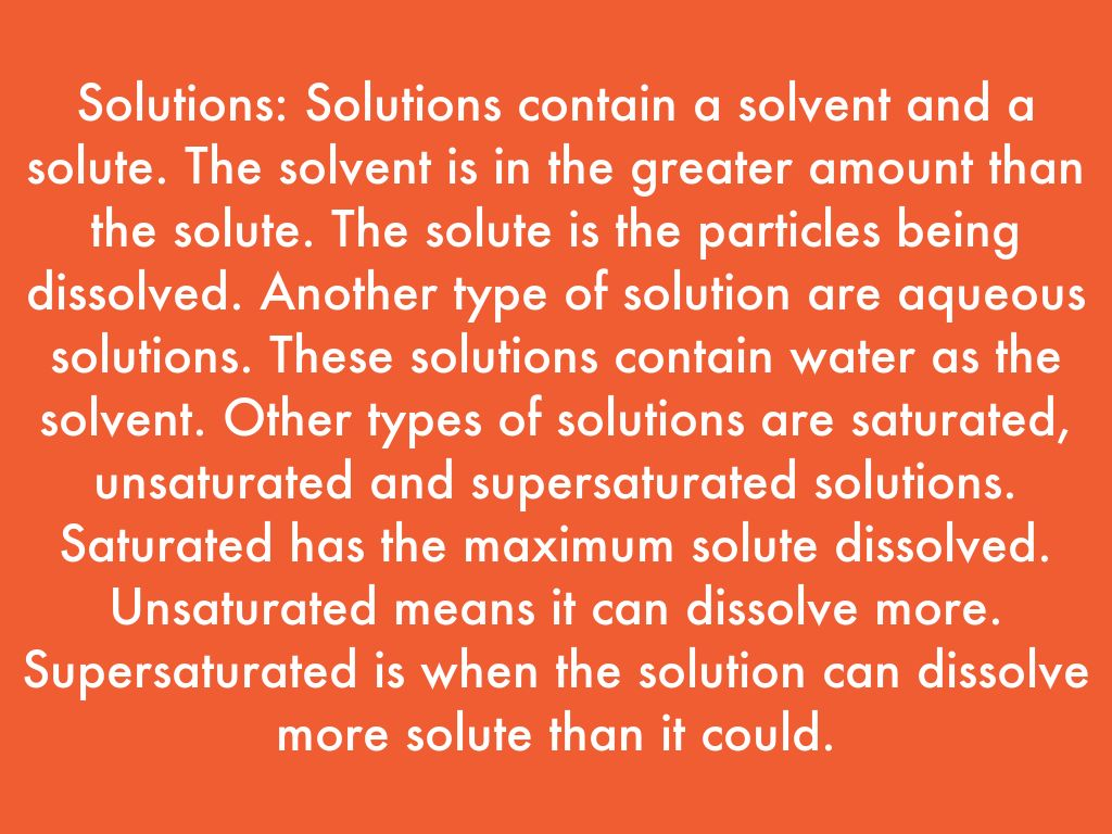Properties Of Solutions By Athao