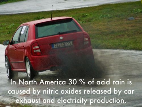 small resolution of in north america 30 of acid rain is caused by nitric oxides released by car exhaust and electricity production