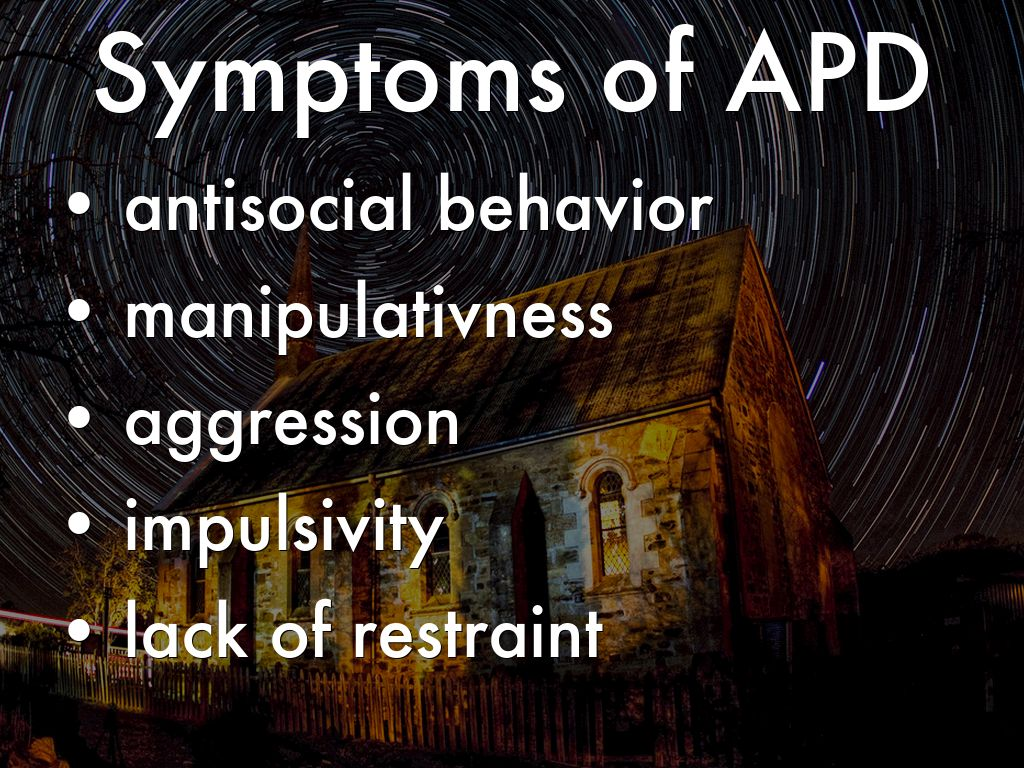 Borderline And Antisocial Personality Disorder By
