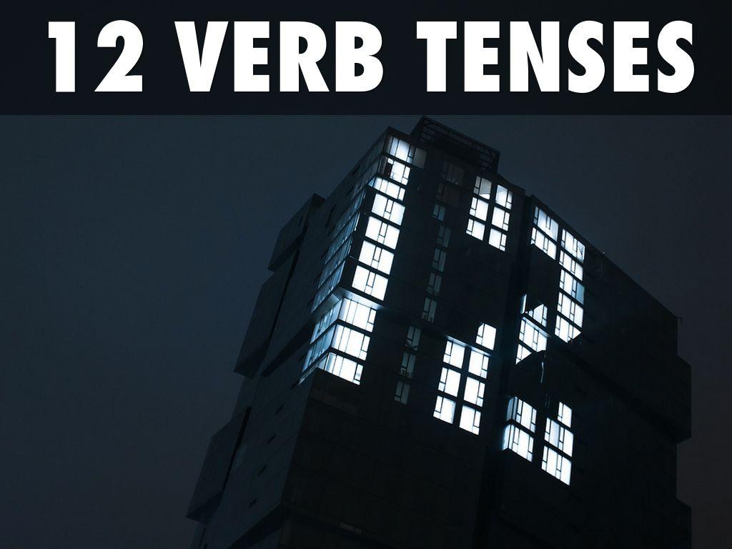 Copy Of 12 Tenses Blue Azar By A Faulkner
