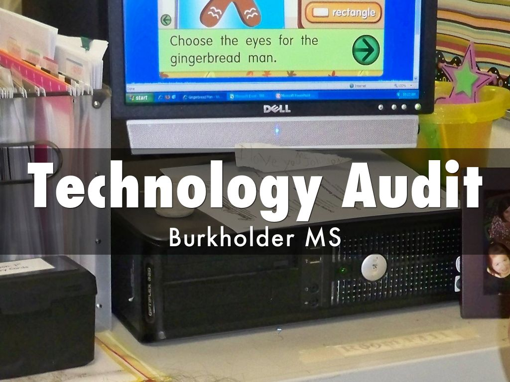 Technology Audit by Sean McNelley