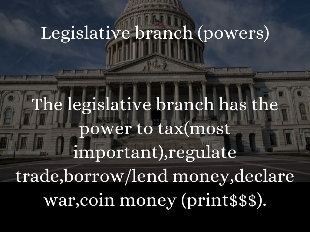 Three Branches Of Government By London Borward