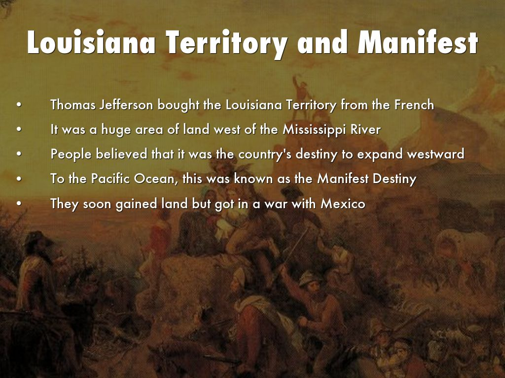 Manifest Destiny And Westward Expansion By Cquindoy