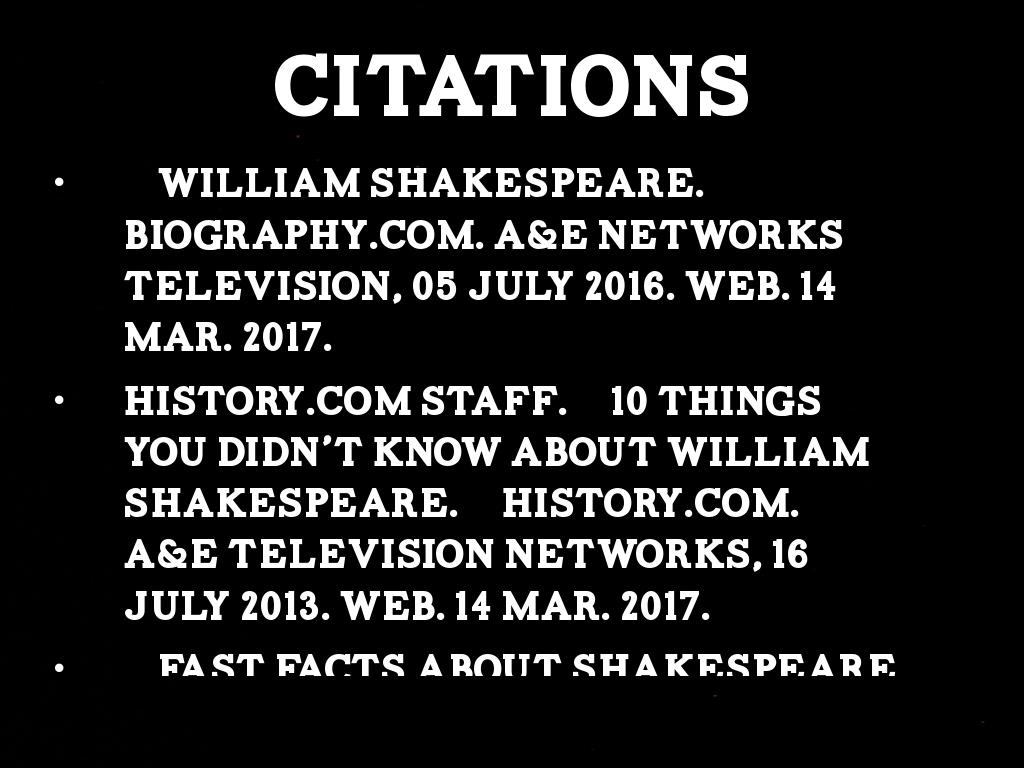Top Ten Interesting Facts About William Shakespeare By
