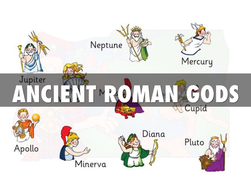Roman Gods By Ruby Wilson