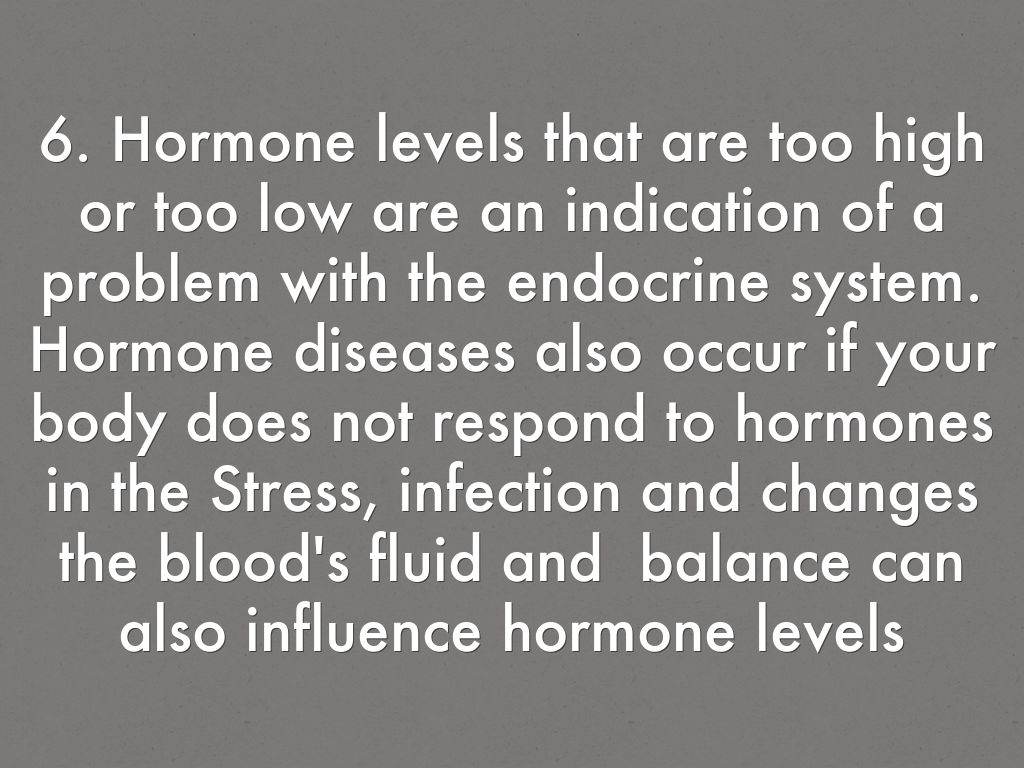 1 This Body System Function The Endocrine System Is