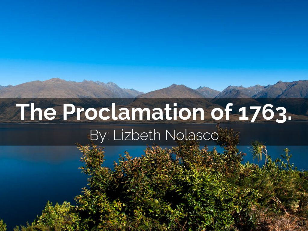 The Proclamation Of By Lizbeth Nolasco