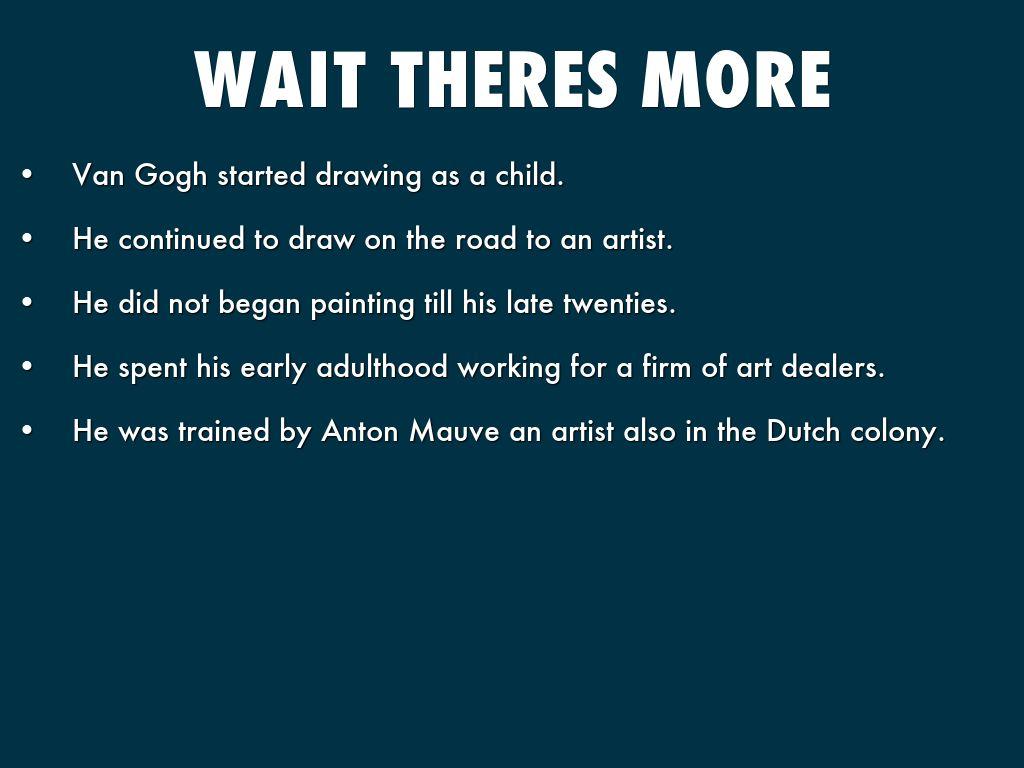 Vincent Van Gogh By Henry J N