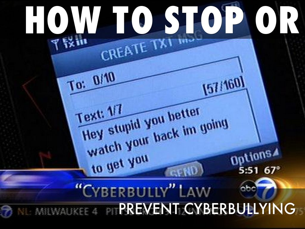 How to stop or prevent Cyberbullying by Madison Burns