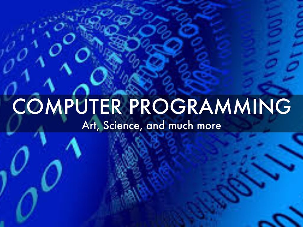Computer Programming By Eric Lech
