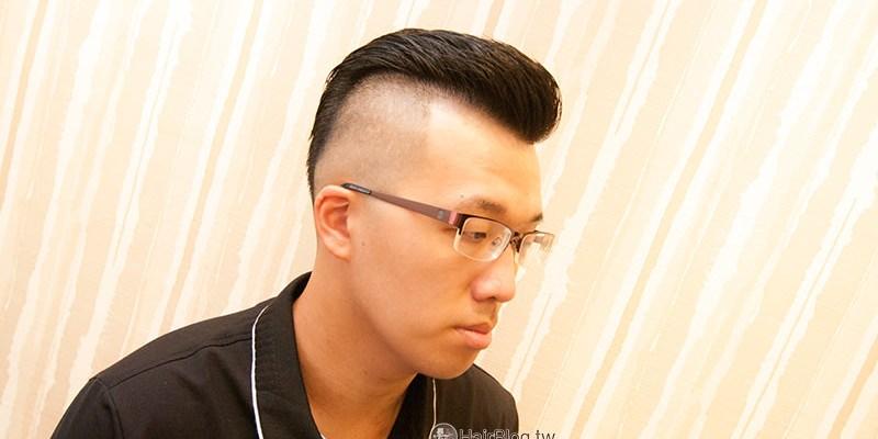 男士油頭髮型作品(縮時攝影剪髮作品)