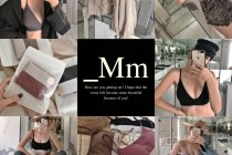 _Mm 居家內著   舒適時髦系列 無鋼圈棉質內衣&拼色Bra Top