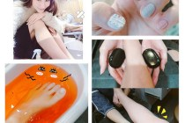 [美甲]Hestia赫司緹雅「玄武熱石足部能量SPA」,與我的「冬季針織毛衣指彩光療」!