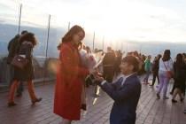 [求婚]接受來自紐約的禮物,愛情長跑10年的我們要結婚了!!!!