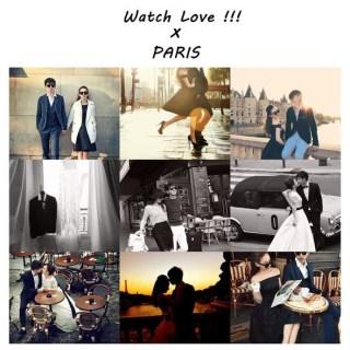 [巴黎婚紗]想起9月天冷冷的巴黎空氣,那些美好的時光…