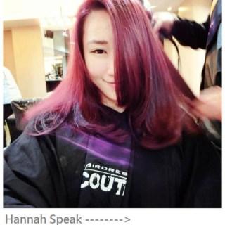 [頭髮]2014新年前大改造 : 到Écouter M(東區)找Gary染了大紅大紫的頭髮 : )