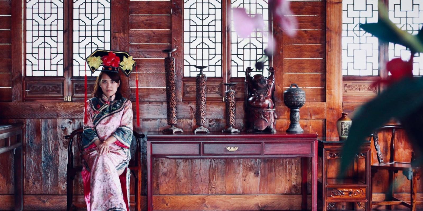 台南旅遊景點/台灣白河萬里長城/台灣萬里長城,娘娘不是這麼好當的!