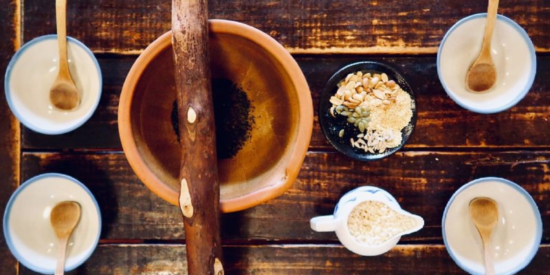 【新竹】北埔天水茶房,親子同樂體驗客家擂茶