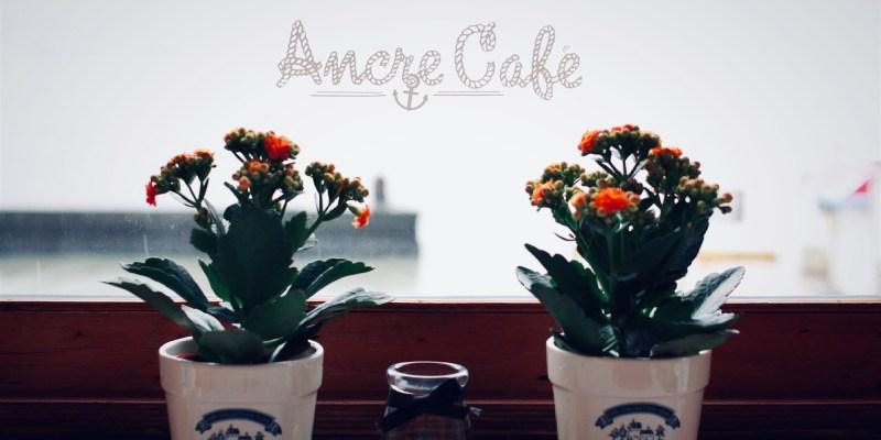 淡水景觀咖啡/淡水安克黑咖啡Ancre cafe,輕鬆一覽淡水河畔美景