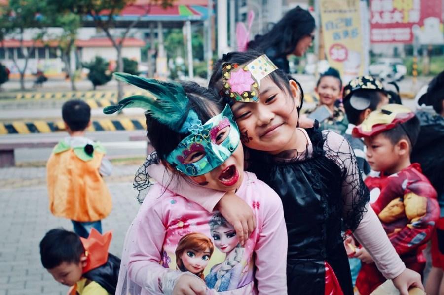 Yumi成長日記/Yumi最後一次幼兒園的萬聖節活動(5Y10M)
