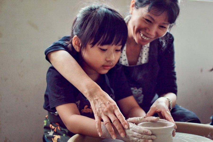 新北親子體驗/鶯歌豐陶藝坊,在鶯歌老街內讓孩子們體驗陶瓷的奧妙