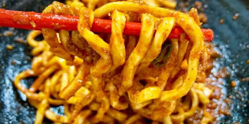台北麻辣美食/吳興街大王麻辣乾麵,隱藏版超級辣乾麵,真的辣到會神遊