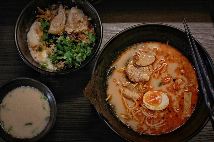 桃園日式料理/中壢葵拉麵,夜深了來碗熱騰騰的一碗拉麵,暖心又暖胃!
