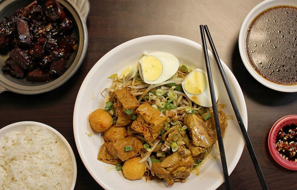 桃園馬來西亞料理/中壢富爸爸馬來西亞料理,太晚來熱門品項全部都吃不到!