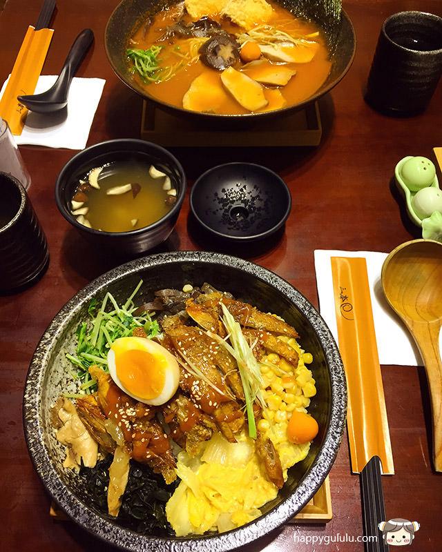 [臺北] 三本手工拉麵 日本料理|建國南京總店 (影音 - 古露露的幸福蔬食物語