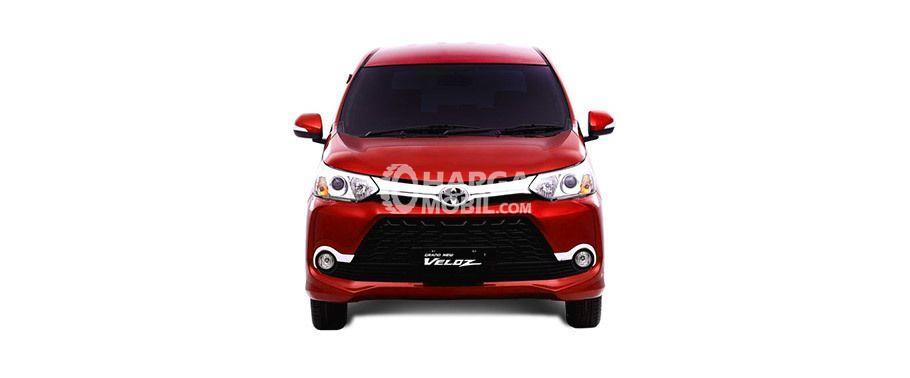 review mobil grand new veloz avanza e 1.3 m/t toyota 2017 spesifikasi harga dan gambar berwarna merah dilihat dari bagian depan