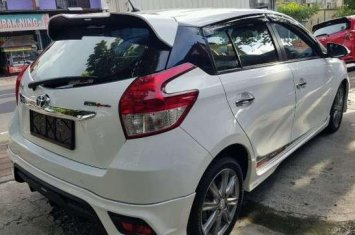 toyota yaris trd putih velg grand new avanza veloz sportivo manual 2016 100384 1