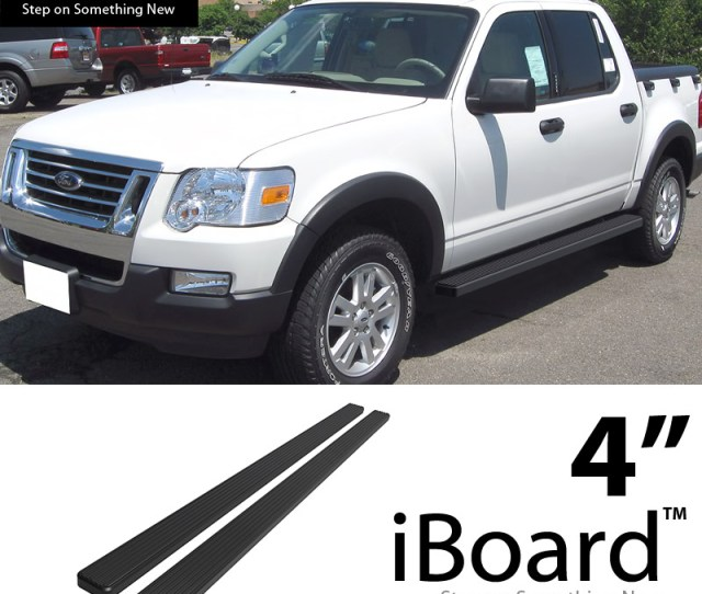 Image Is Loading 4 034 Black Eboard Running Boards Fit Ford
