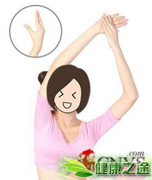 瘦手臂最有效的方法 按摩八穴位快速瘦手臂 - 康途健康百科