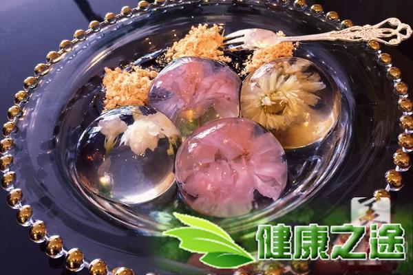 水信玄餅(櫻花&茉莉&菊花)的做法 - 康途健康百科