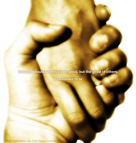 1 Corinthians 10:24 (40 kb)