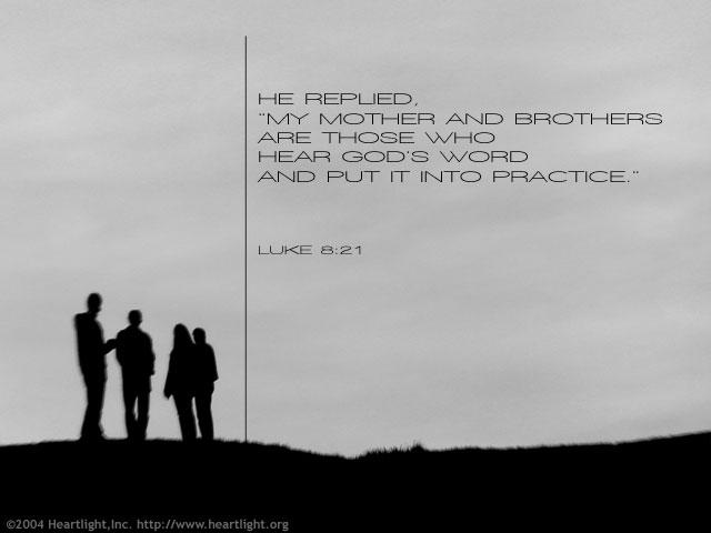Image result for Luke 8:21;