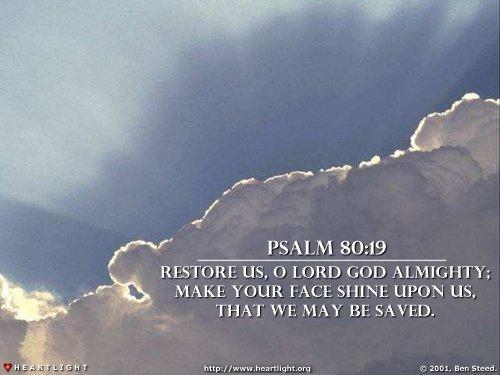 Psalm 80:19 (31 kb)