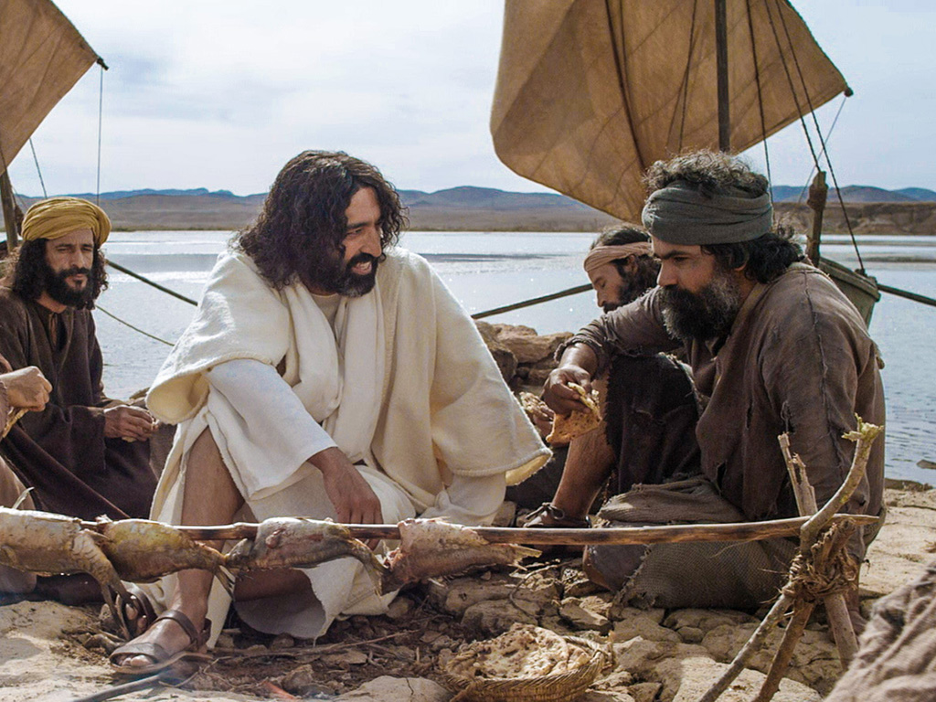 Image result for jesus reinstates peter