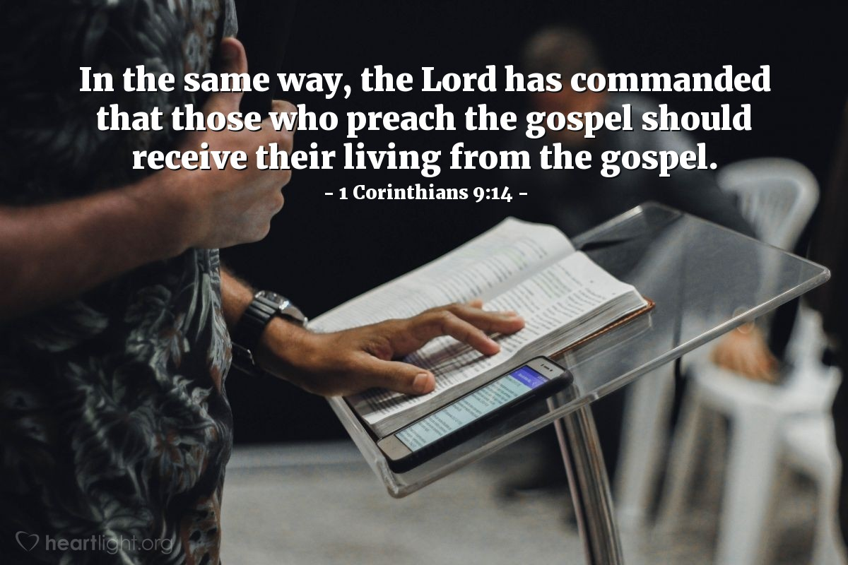 Image result for 1 Corinthians 9 9