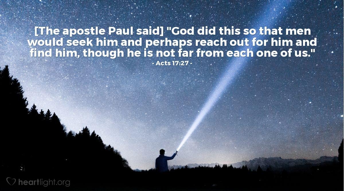 Image result for Seeking God