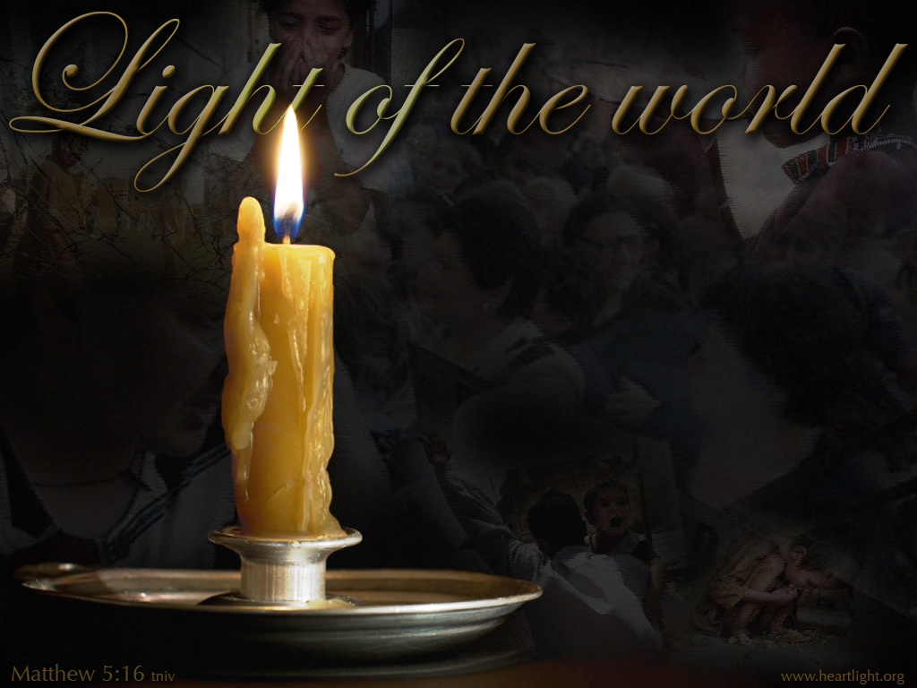 Light Of The World PowerPoint Background Of Matthew 5