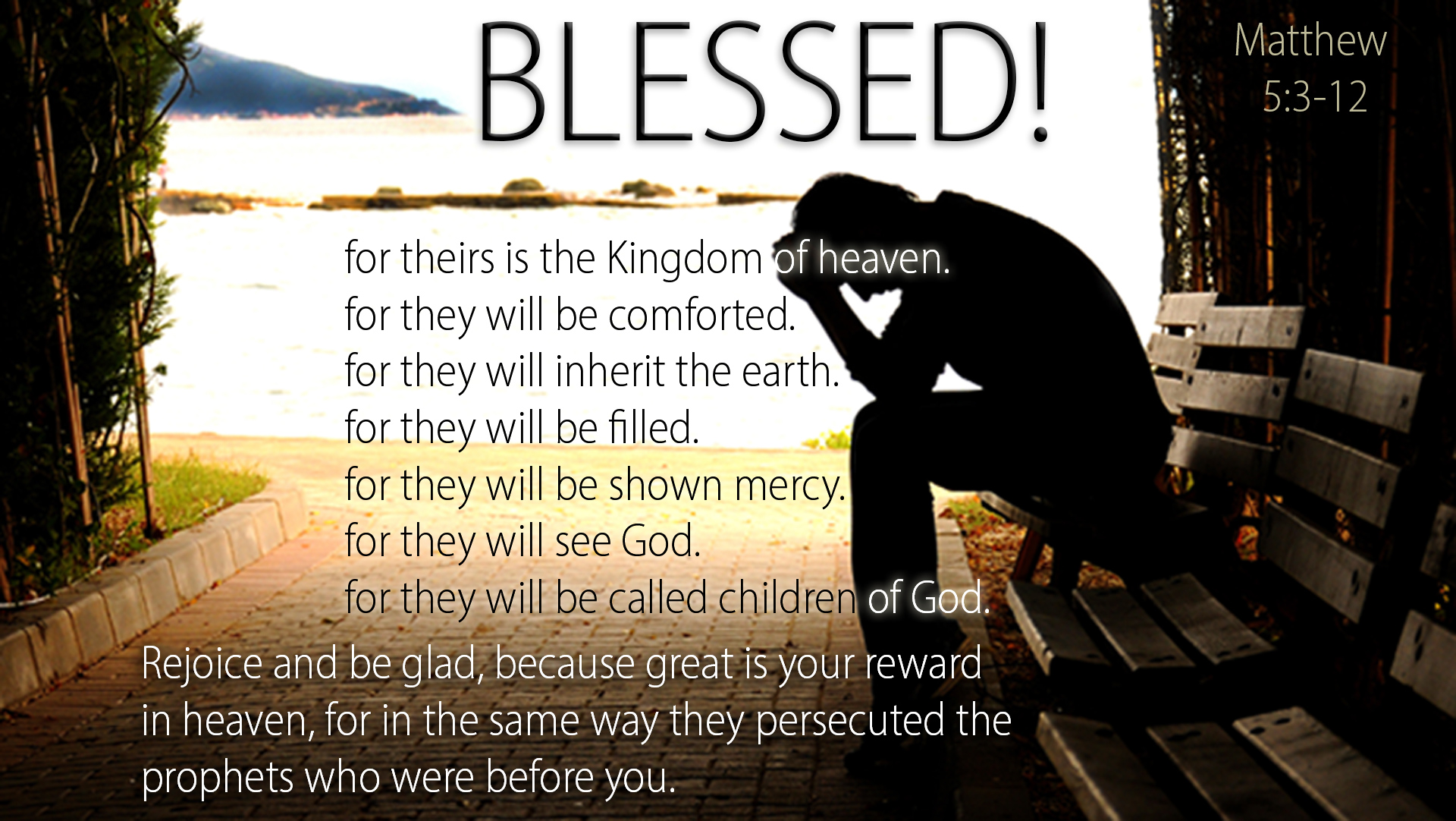 Matthew 5312  Truly Blessed  Heartlight Gallery